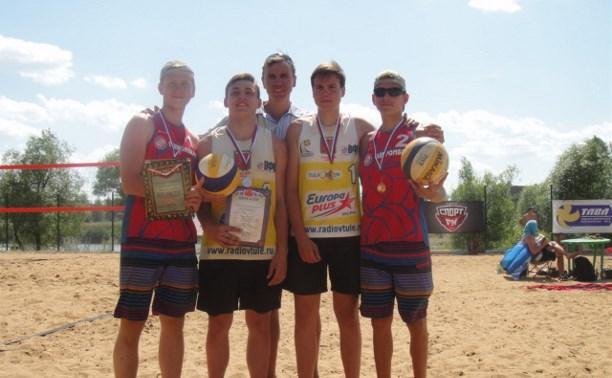 В Туле прошёл 2-й чемпионат ЦФО по пляжному волейболу
