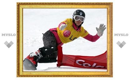 Российская сноубордистка выиграла золото чемпионата мира