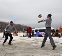 В Туле состоялся праздник волейбола на снегу