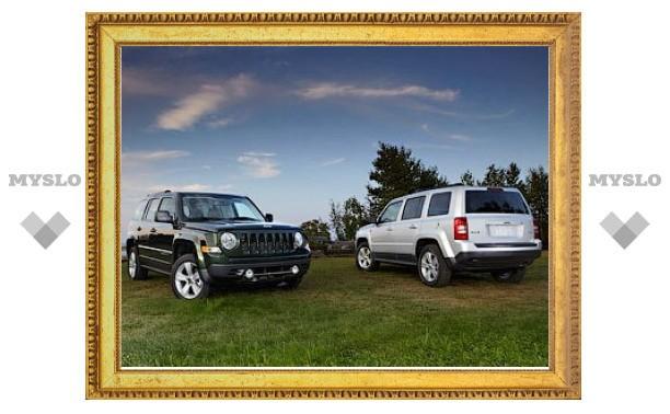 Рестайлинговый Jeep Patriot получил новый интерьер