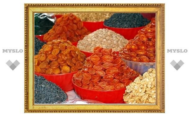 В Туле будут продавать таджикские орехи и сухофрукты