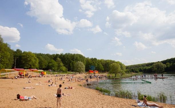 В Тульской области откроются 46 пляжей