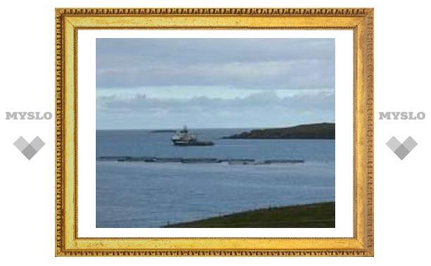 На перевернувшемся в Северном море судне погибли трое членов экипажа