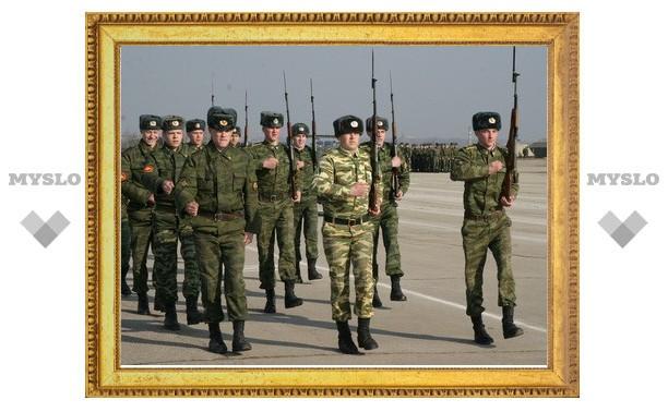 В Туле прошла репетиция Парада Победы