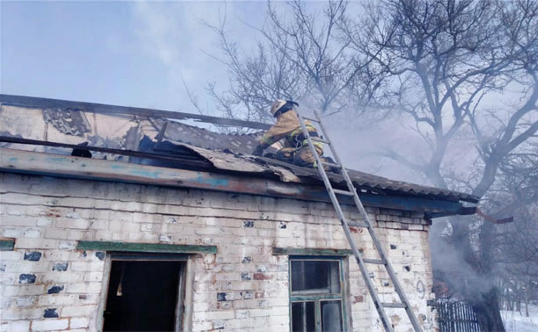 В Каменском районе на пожаре погиб мужчина