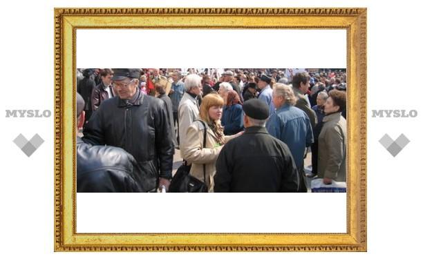 Тульские власти пытались запретить митинг