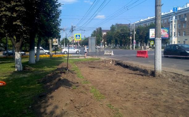 На проспекте Ленина появятся 11 парковочных карманов
