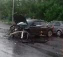 Очередное ДТП в Туле на перекрестке Рязанской и «пьяной дороги»: столкнулись «Ситроен» и «Киа»