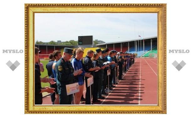 В Туле прошли спортивные соревнования среди спасателей
