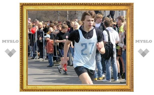 Эстафета перекроет движение по проспекту Ленина