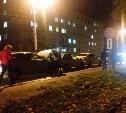Улица Староникитская встала из-за аварии с участием четырёх машин