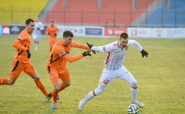 «Арсенал» сыграл вничью с «Уралом»