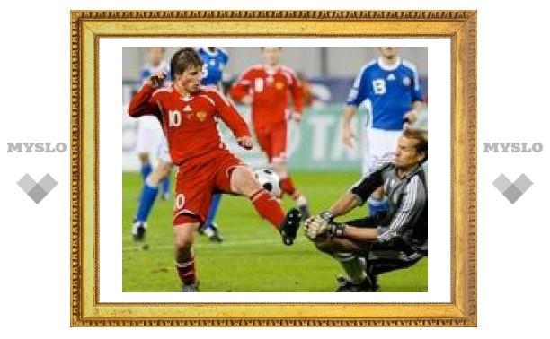 Футбол: Россия разгромила Финляндию