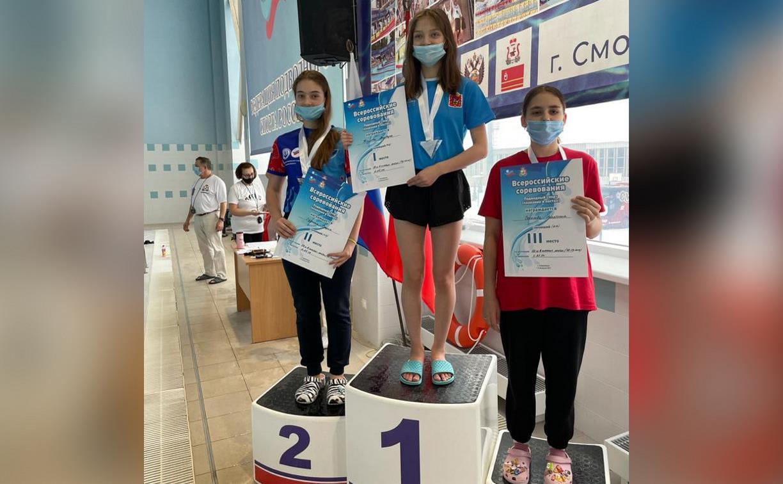 Тульские пловцы завоевали 67 медалей на Всероссийских соревнованиях по подводному спорту
