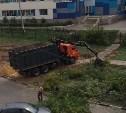 Вырубают деревья: рядом со школой №21 в Туле появится парковка