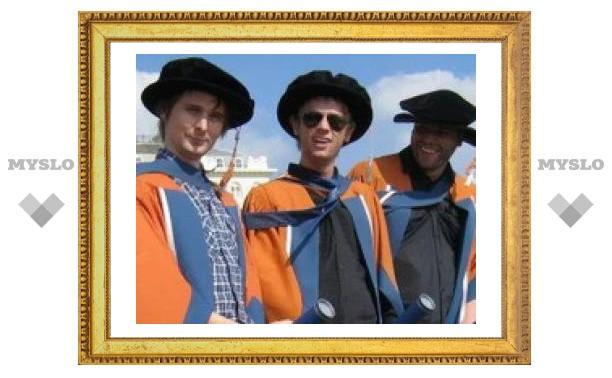 Участникам Muse присудили ученые степени