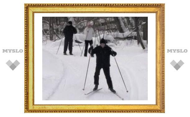 В Туле состоялся лыжный забег