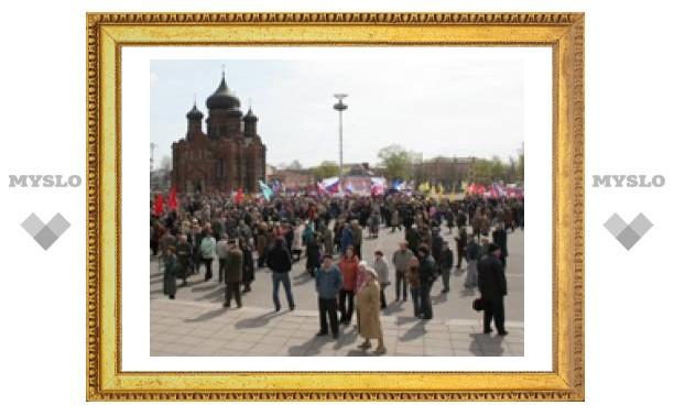 """""""Первомай"""" туляки встретили митингами и соревнованиями"""