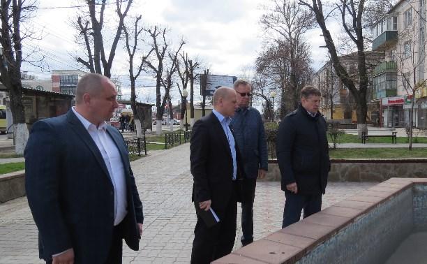 Евгений Авилов поручил привести в порядок проспект Ленина