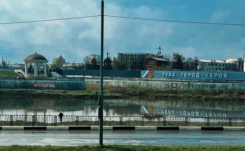 Фанаты «Спартака» нарисовали в Туле граффити