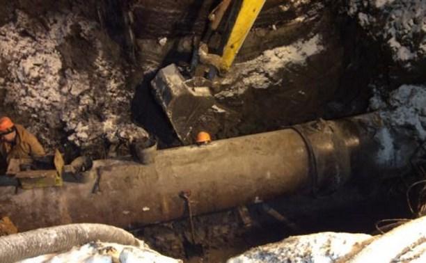 В Туле произошла коммунальная авария: в южной части города проблемы с водой