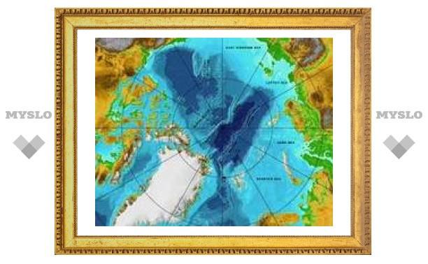 Ученые назвали хребет Ломоносова российской территорией