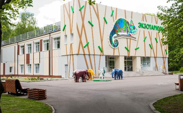 Новое здание экзотариума в парке снова работает!