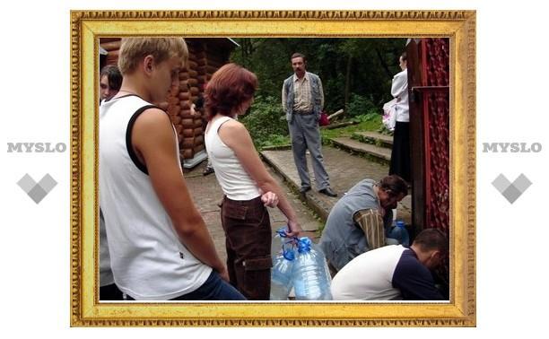В Щекинском районе 78 домов остались без холодной воды