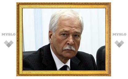 Грызлов, избиравшийся от Тульской области, отказался от депутатства