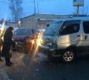 На Венёвском шоссе столкнулись две иномарки