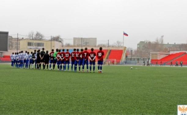 Футбольная команда ТулГУ дважды уступила саратовцам