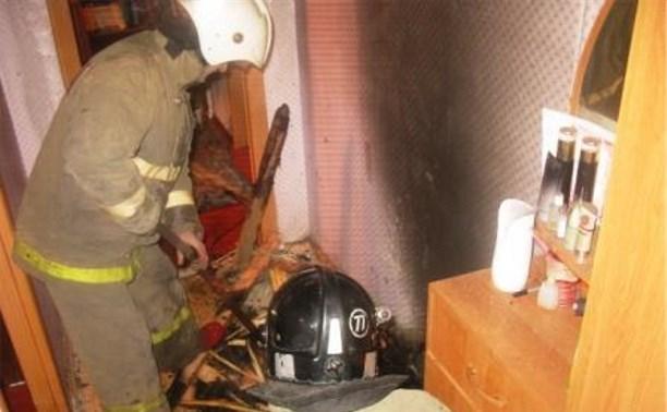 Из-за непотушенной сигареты загорелся дом в Донском
