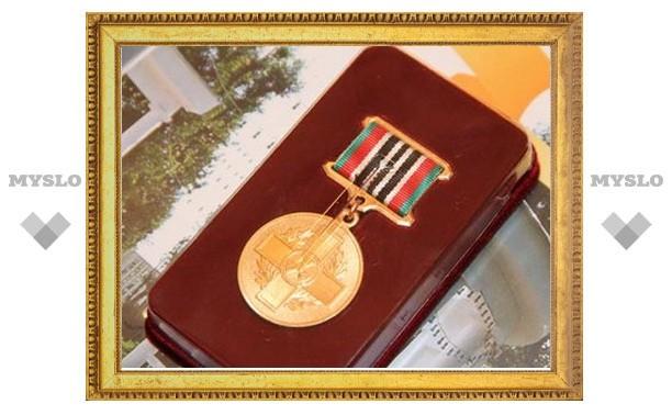 В Новомосковске чернобыльцам вручили медали