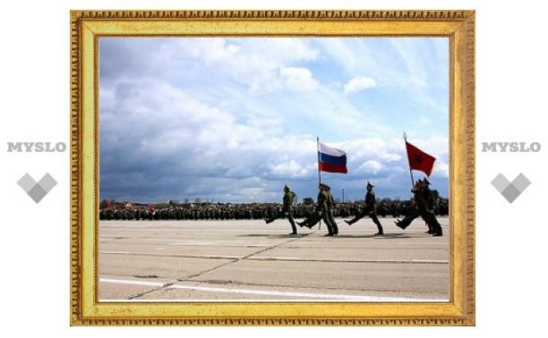 31 туляк примет участие в параде на Красной Площади