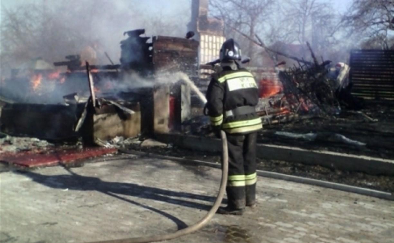 В Заокском районе во время пожара погибла пенсионерка