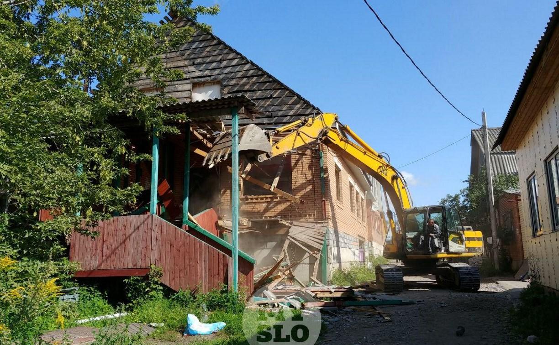Снос незаконных домов в таборе в Плеханово: фото и видео