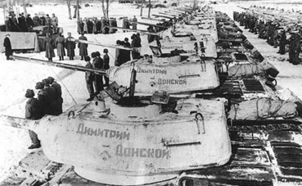 В Туле отметят 70-летие передачи Красной армии танковой колонны «Дмитрий Донской»