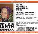 В Тульской области пропала пенсионерка