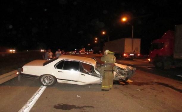 В ночной аварии на М4 пострадала девушка