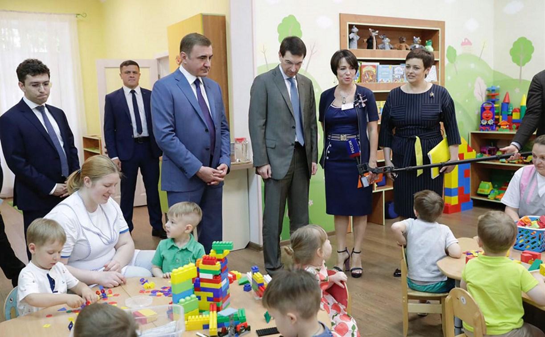 За пять лет в Тульской области планируют построить 18 детских садов