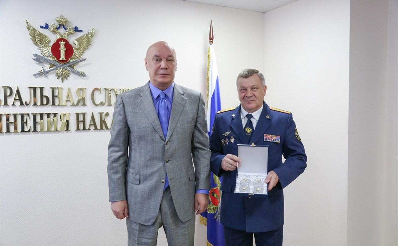 Начальник тульского УФСИН Юрий Краснов стал генералом