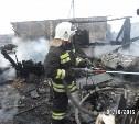 В Плавском районе в гараже сгорел автомобиль  «Рено Винд»