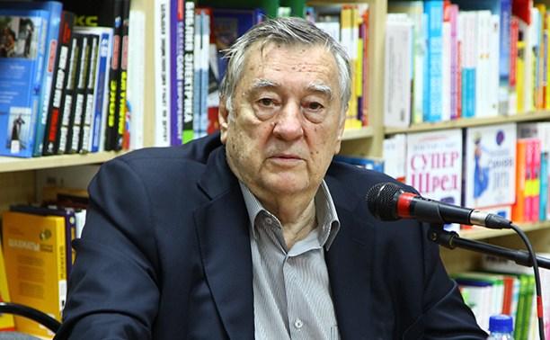 Александр Проханов представил тулякам свой роман «Крым»