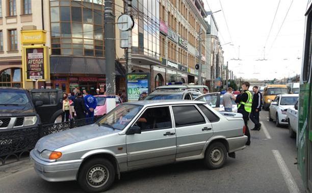 Полиция ищет очевидцев похищения на Советской в Туле