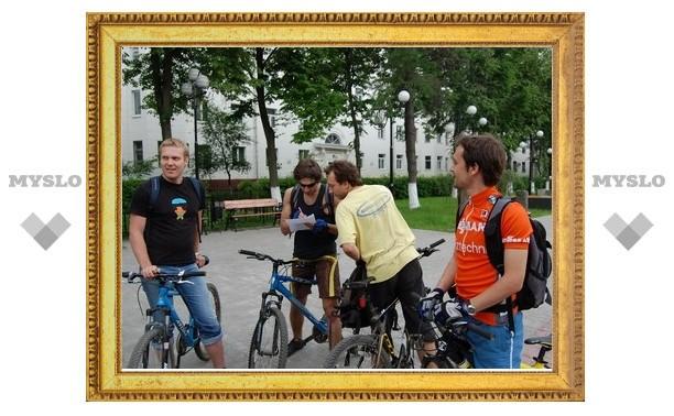 Тульские велосипедисты устроили «Велоквест»