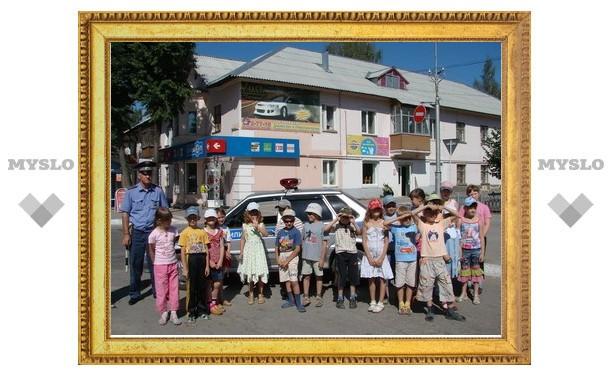 В Суворове появилась «Безопасная дорога детства»