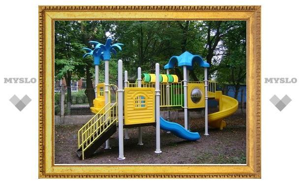 Игровые площадки в Туле могут быть опасны для детей