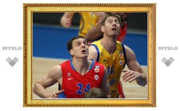 ЦСКА выиграл чемпионат России по баскетболу