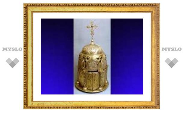 В Москве будет выставлен Большой сион новгородского Софийского собора