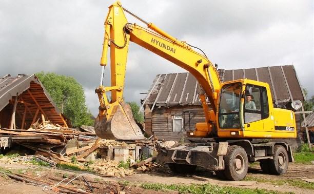 В Плеханово продолжается снос незаконных цыганских построек